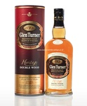 Glen Turner Heritage double Wood,   40% Vol.,  0,7l